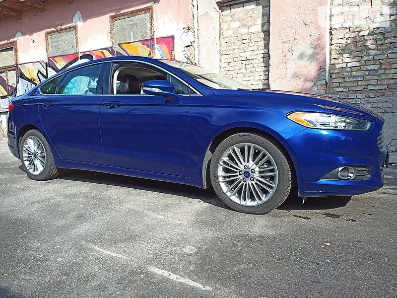 ford fusion fx